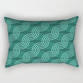 Op Art 55 Rectangular Pillow