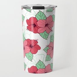 Flowers painting art artwork pattern Travel Mug