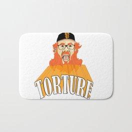 San Francisco Baseball Torture Bath Mat