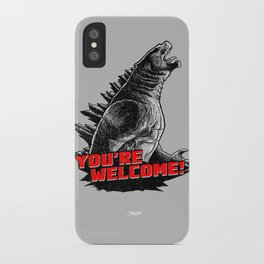 Gojira '14: You're Welcome! iPhone Case