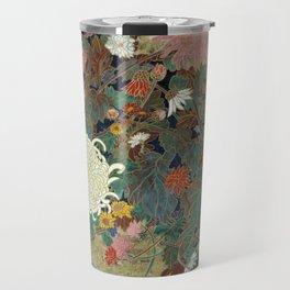 flower【Japanese painting】 Travel Mug