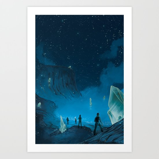 The Ethereal Underground Art Print