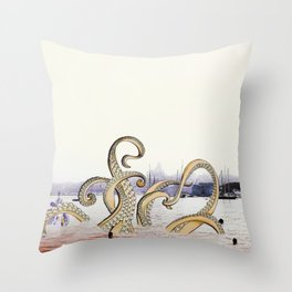 Spring Sea Throw Pillow