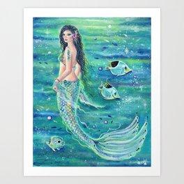 Andrinna Mermaid Art Print