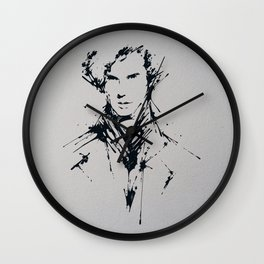 Splaaash Series - Mastermind Ink Wall Clock