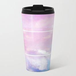 Pastel Sky II Metal Travel Mug