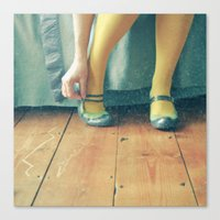good morning Canvas Prints featuring Good Morning by Cassia Beck