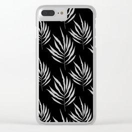 B&W Flora 05 Clear iPhone Case