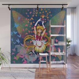 Super Sailor Moon and Rainbow Moon Chalice Wall Mural