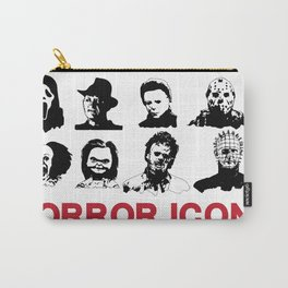 hORROR iCONS Carry-All Pouch