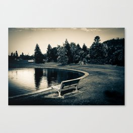 Newcastle, NSW, Australia The Lonely Pond Canvas Print