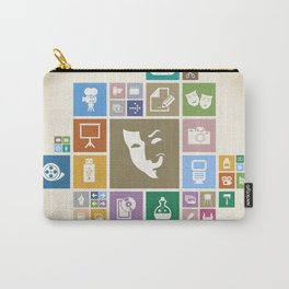 Art the designer Carry-All Pouch