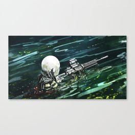 Water Recon Canvas Print