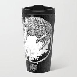 Decapitated by dishwasher II (black) Travel Mug