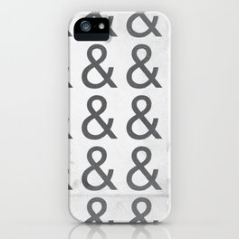 Helvetica Ampersand - Happy National & Day! iPhone Case