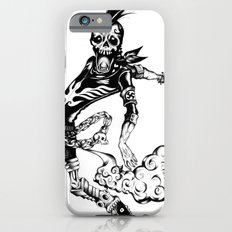 Fart Skull Flying iPhone 6s Slim Case