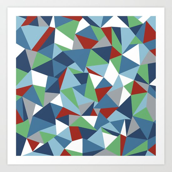 Abstraction #8 Art Print