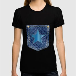Star Denim Pocket T-shirt