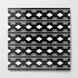 Aztec Decor Design Metal Print