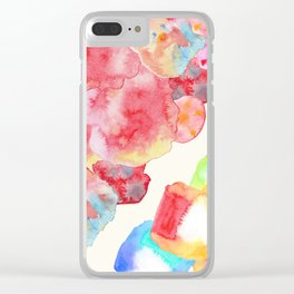 Candy dreams Clear iPhone Case
