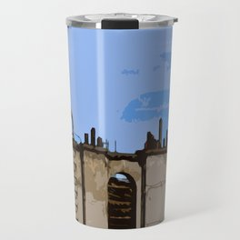 Paris Roofs Travel Mug