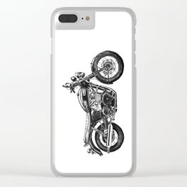 Triumph Motorcycle Clear iPhone Case