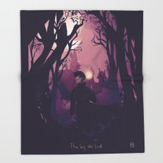 The boy who lived Throw Blanket