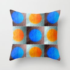Patches 1 Throw Pillow