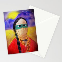 Medicine Man's Mystic Moon-Barbara Chichester Stationery Cards