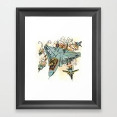 Tyrannosquadron Rex! Framed Art Print