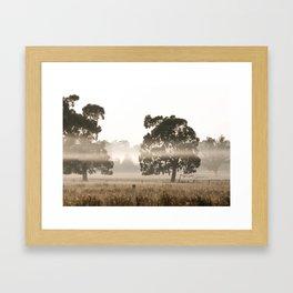 Country Fields Framed Art Print