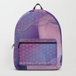 Mermaid IV - Pink Violet Princess Backpack