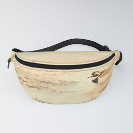 E C Arnold - A Bird Collector's Medley (1907): Ringed Plovers on the Crumbles Fanny Pack