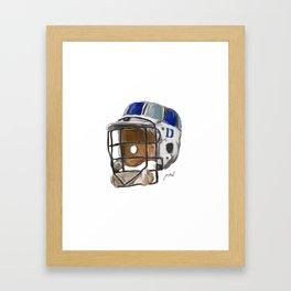 Duke Lax Bucket Framed Art Print