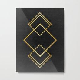 Golden forms VIII Metal Print