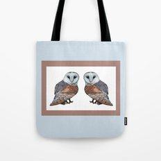 The Owl Collection - Barn Owl Tote Bag