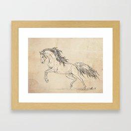 Take a leap Framed Art Print