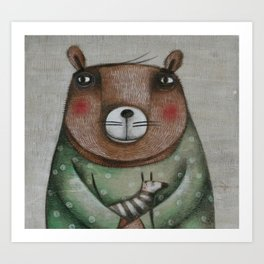 Orsetto Art Print