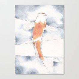 Stripped Canvas Print