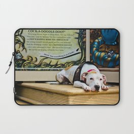 Don't Judge A Book By Its Cover Laptop Sleeve