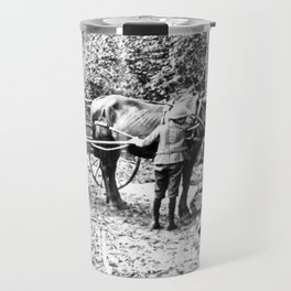 Vintage Adirondacks: The Roadside Watering Trough Travel Mug