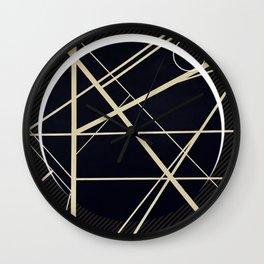 Crossroads - Crescent Wall Clock