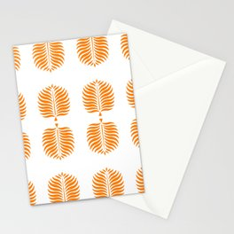 TROPICAL PALMS . TANGERINE Stationery Cards