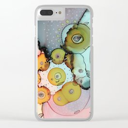 Dance with me Clear iPhone Case