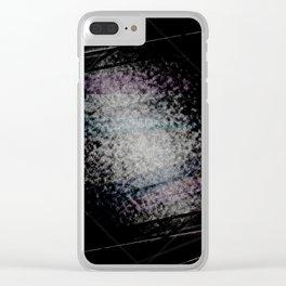 Dark nigh-t #4 Clear iPhone Case