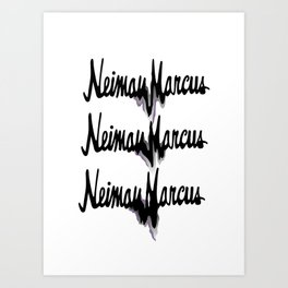NM drips Art Print