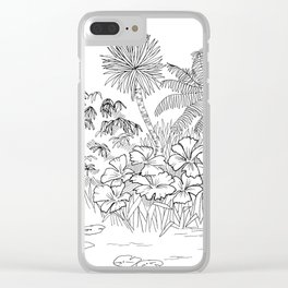 Outside II Clear iPhone Case