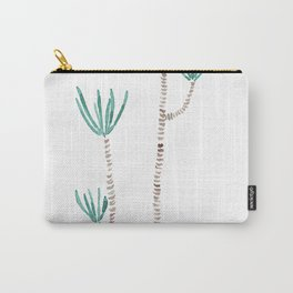 indoor palm tree watercolor Carry-All Pouch