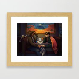 You Should See the Other Guys... Framed Art Print