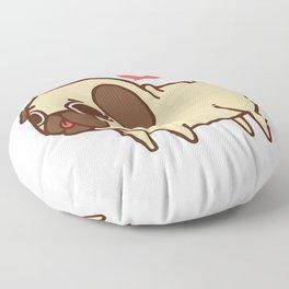 Puglie Heart Floor Pillow